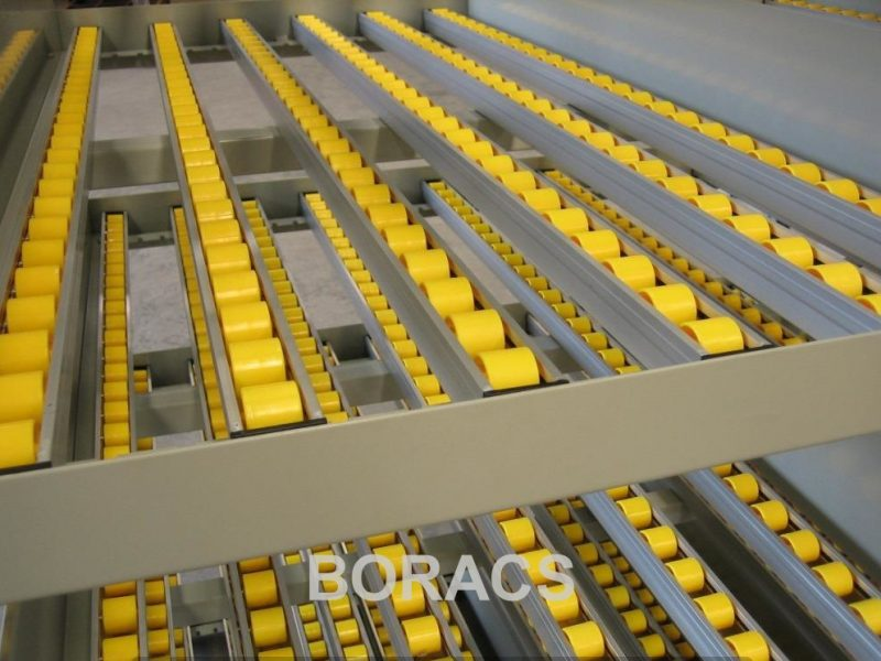 Longspan carton Live flow 4 wm11 pallet rack à palettes estanterías para palet Palettenregale Pallställ Kuormalavahylly Pallereol