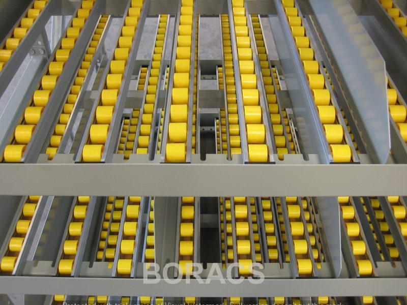 Longspan carton Live flow 6 wm11 pallet rack à palettes estanterías para palet Palettenregale Pallställ Kuormalavahylly Pallereol